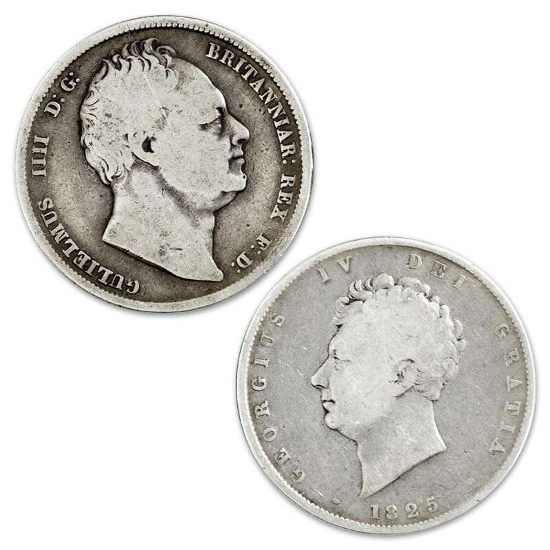 the half crowns of the 19th century coll UK HC19C c three