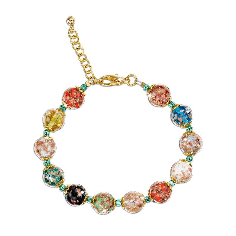 lavish murano glass bracelet UK LMGB2 a main