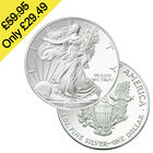 2007 american eagle pure silver dollar UK DEGT a main