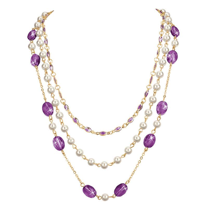 birthstone elegance necklace UK BENS m thirteen