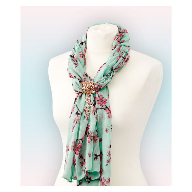 cherry blossom scarf pendant UK CBSP b two