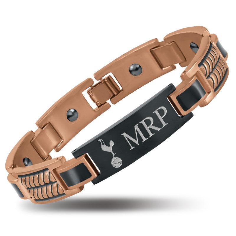 the football mens copper bracelet UK MCFB c three