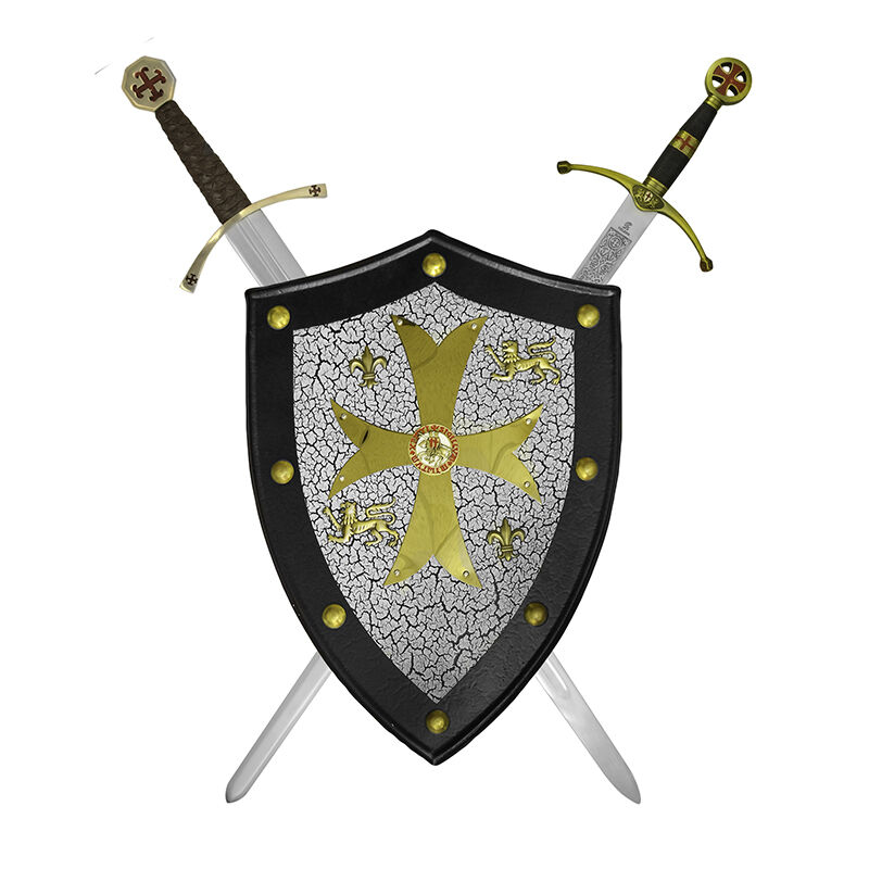 templar knights shield UK TSHLD b two