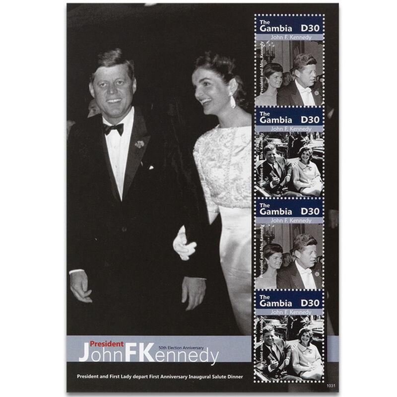 the john f kennedy international stamp c UK KIS d four
