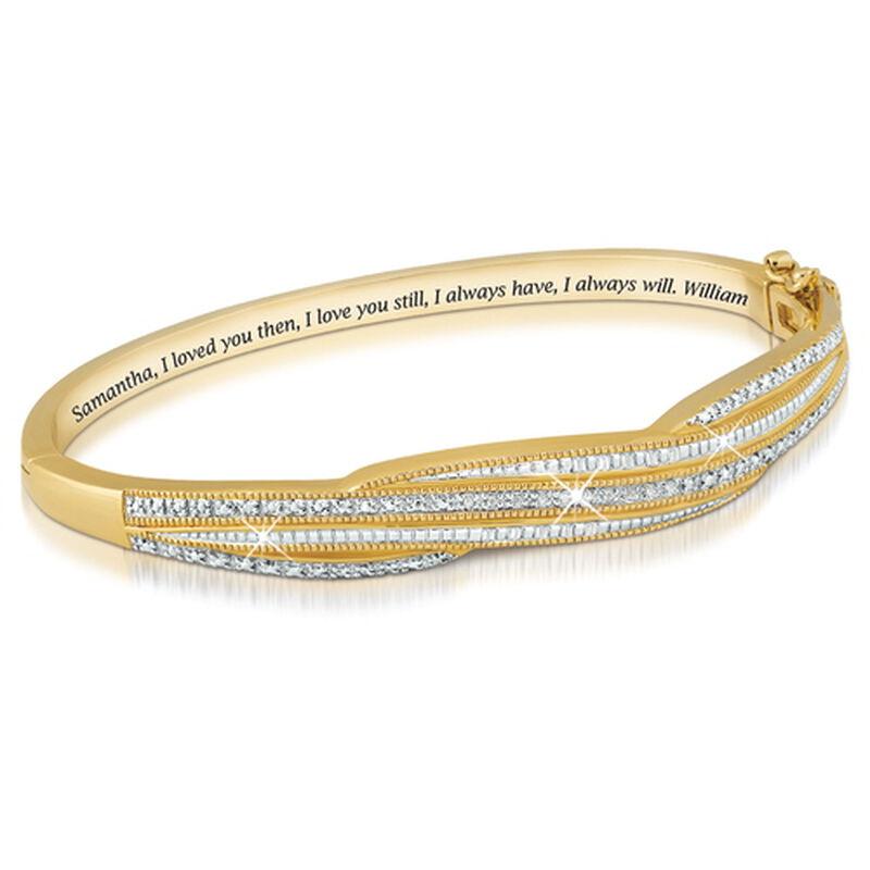 everlasting love personalised diamond ba UK ELPDB a main