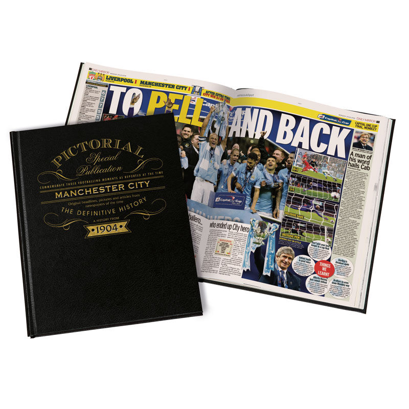 manchester city the definitive history UK MCBK b two