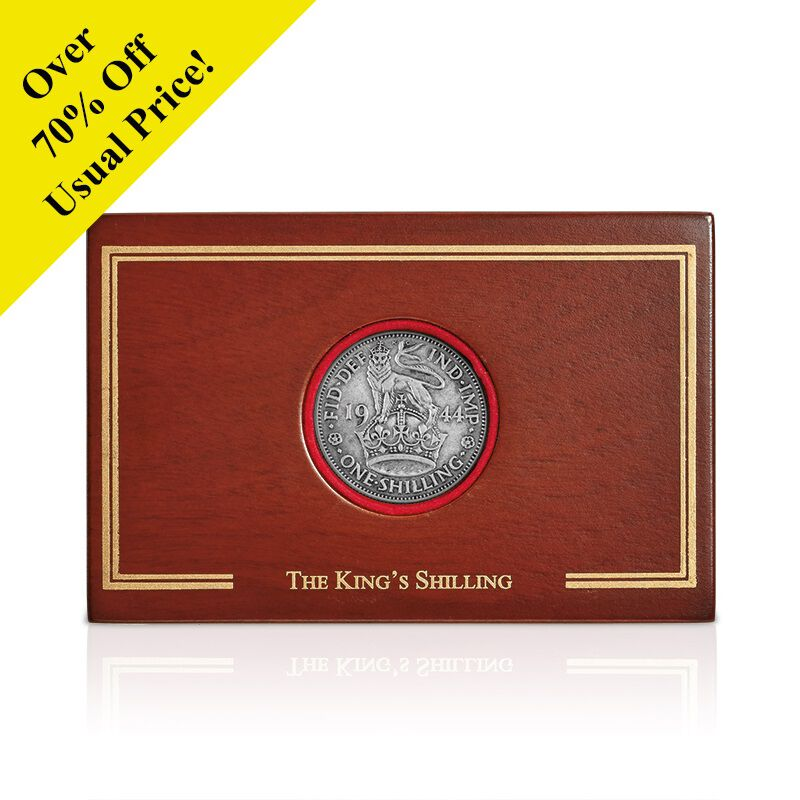 the kings shilling collector panel UK BRCTK a main