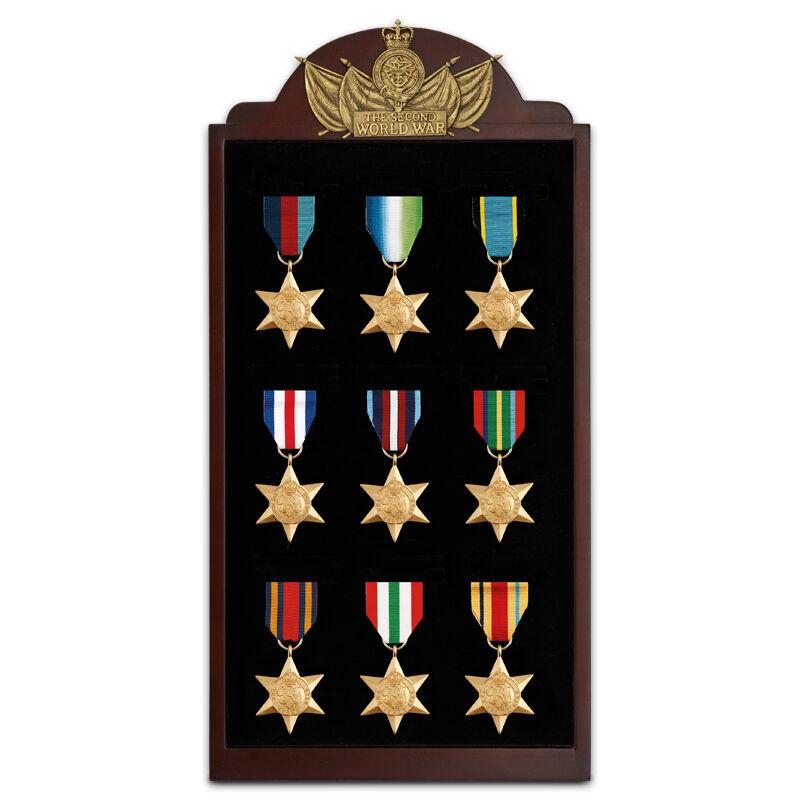 the world war ii campaign stars UK MILM c three