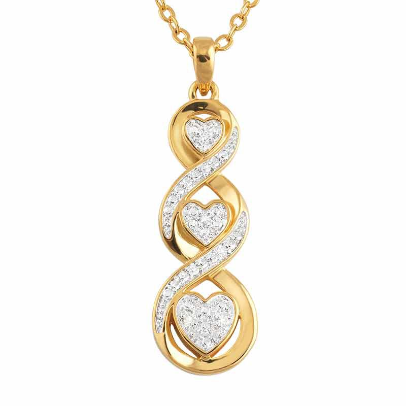 For My Daughter Diamond Pendant 2684 001 7 1