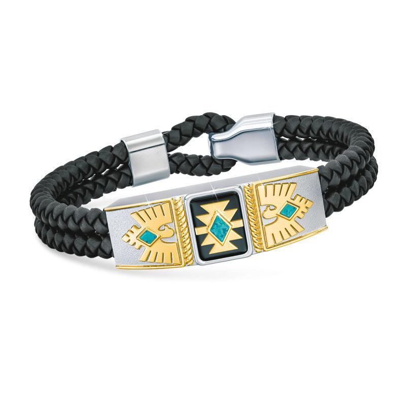 grandson southwest leather bracelet UK GSWLB a main