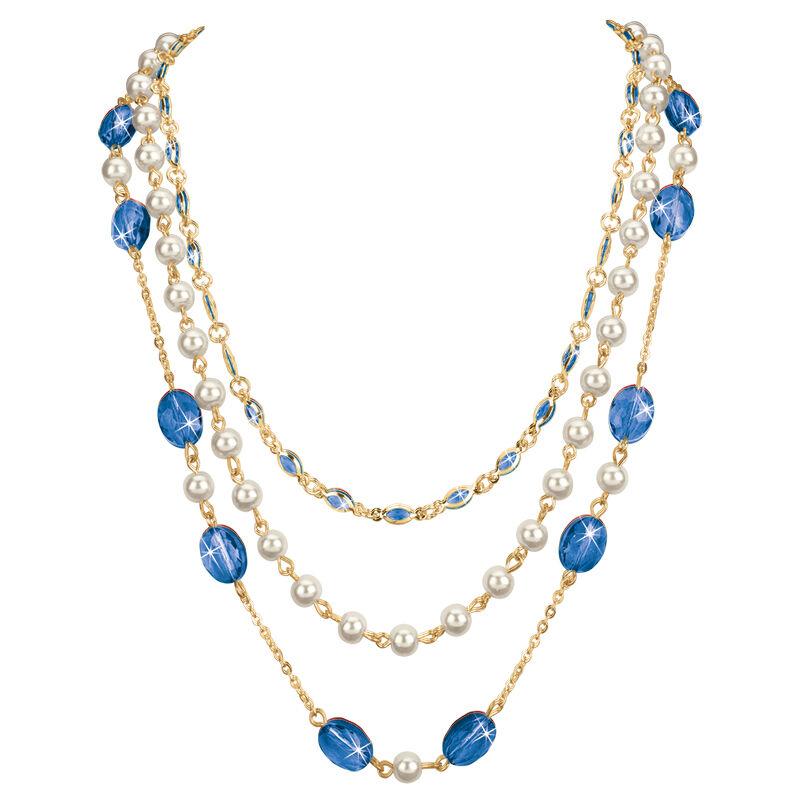 birthstone elegance necklace UK BENS l twelve