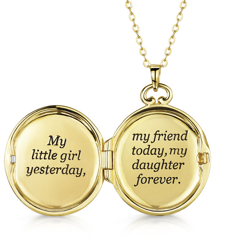 my daughter forever locket UK MDFL c three