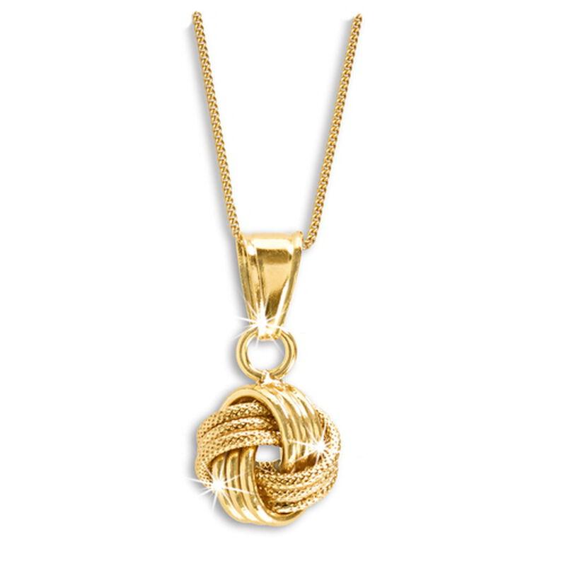 love knot pendant UK LKNP2 a main