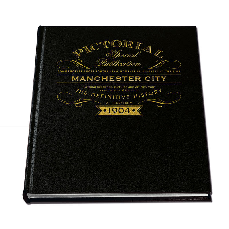 manchester city the definitive history UK MCBK a main