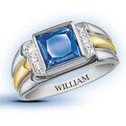 true blue mens created sapphire personal UK CMSR a main