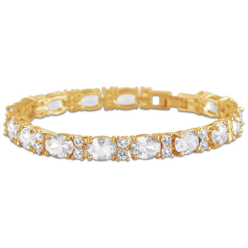 birthstone tennis bracelet UK BDTB2 e five