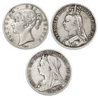 200 years of queen victoria silver crown UK V200C c three