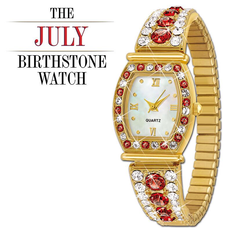 the birthstone personalised stretch watc UK BPSW g seven