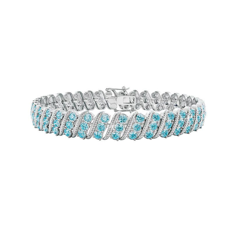 bold beautiful birthstone bracelet UK BSBBB c three
