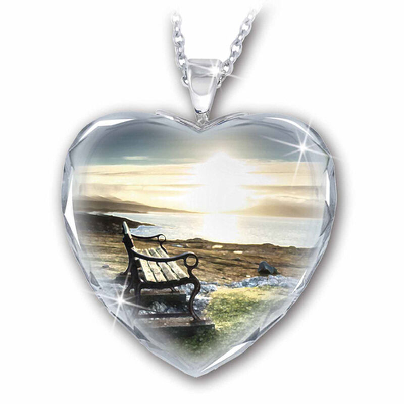 always in my heart crystal pendant UK AIMHP2 a main