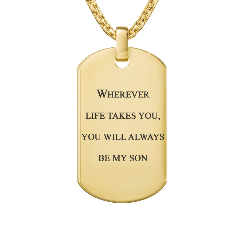 You Will Always Be My Son Journey Pendant 6942 0016 c back