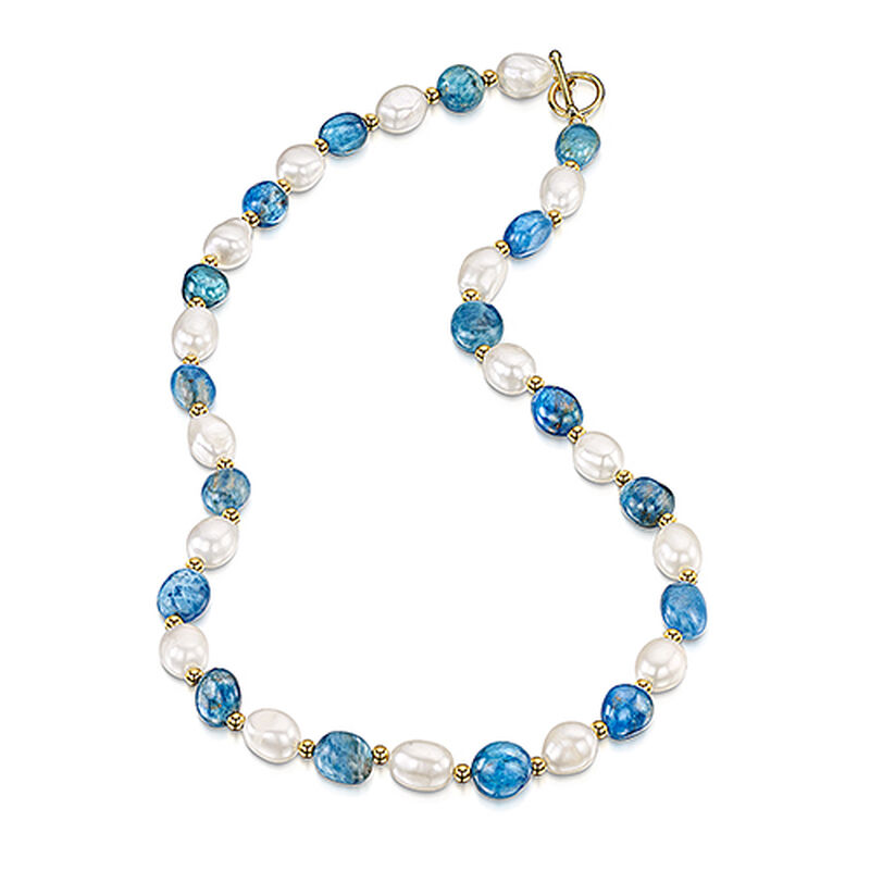 peace harmony pearl apatite necklace UK PHPAN a main