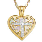granddaughter blessed cross pendant UK GDABCP2 a main