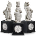 the queens beasts sculpture collection UK QBS a main