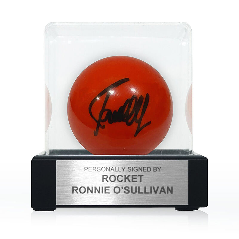 ronnie osullivan signed red snooker ball UK RSSSB a main