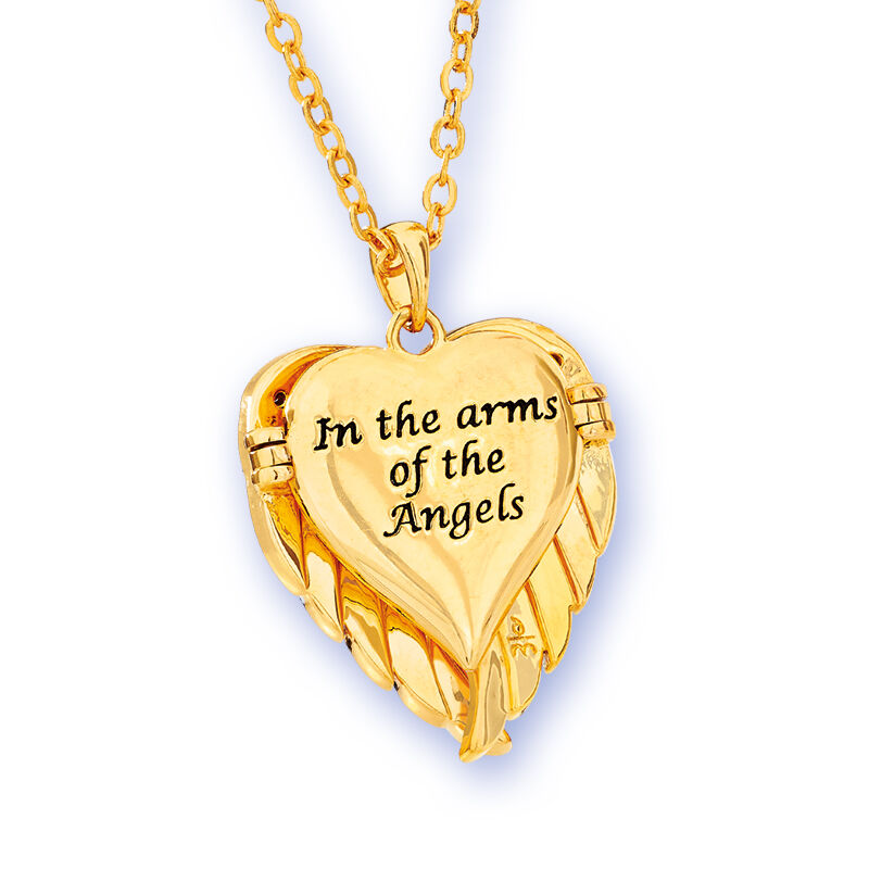 in the arms of the angels locket UK AAL b two