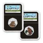 the gruffalo 50 pence silver proof set UK GRPS d four