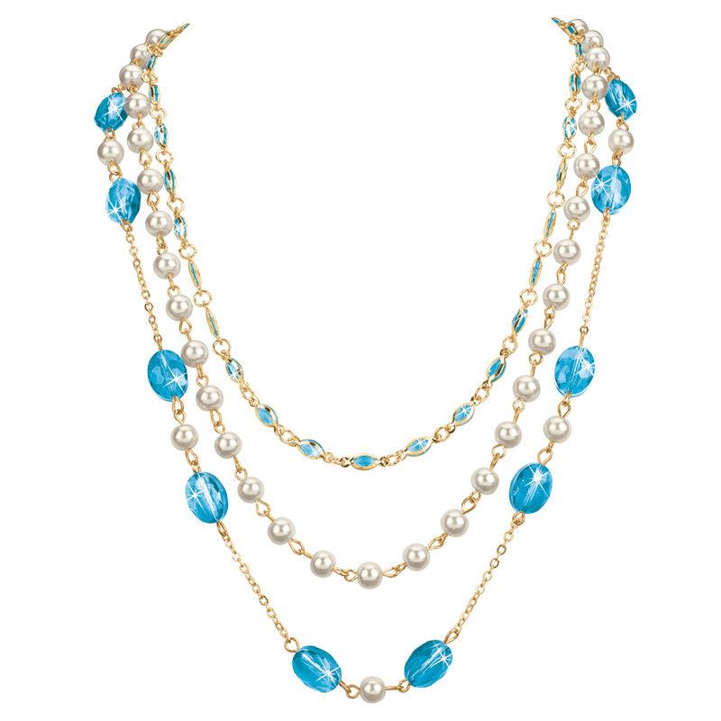 birthstone elegance necklace UK BENS f six