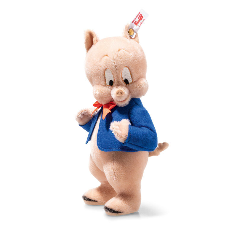 porky pig by steiff UK SPORP a main