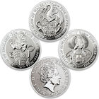 the queens beasts silver bullion collect UK QBC a main