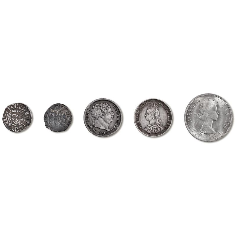 the longest reigns coin collection UK LRMC a main