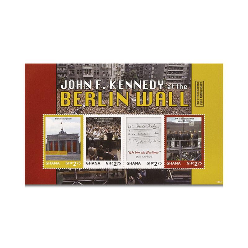 the john f kennedy international stamp c UK KIS c three