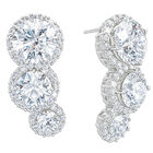 white fire waterfall earrings UK WFWE3 a main