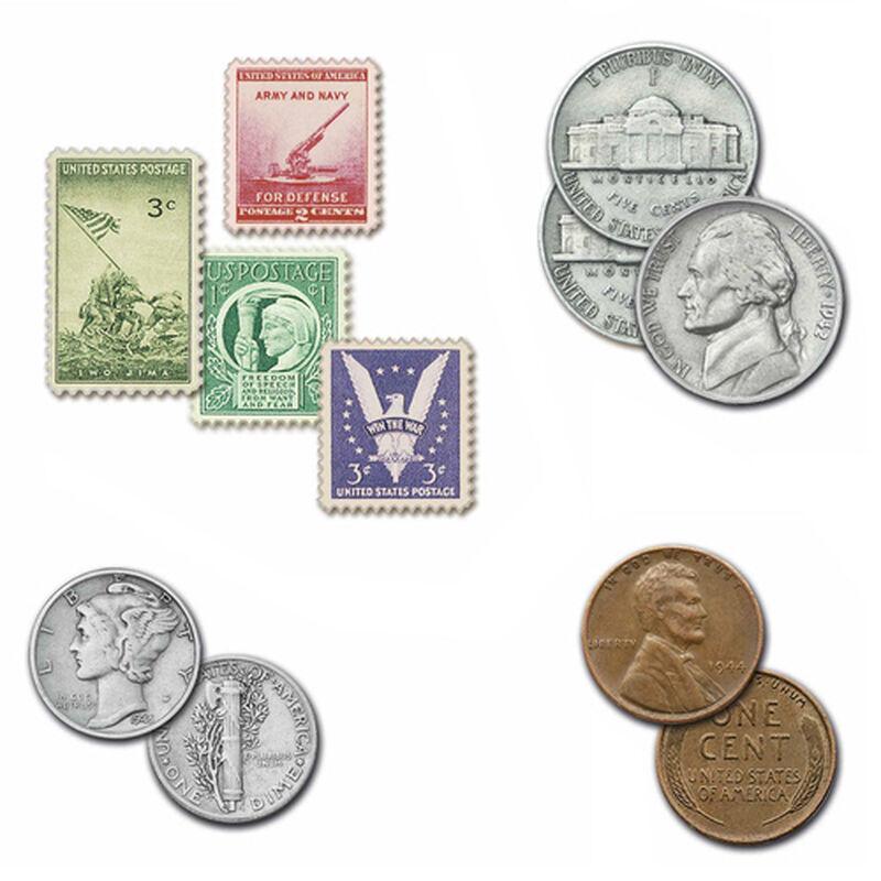 the world war ii u s coin collection UK USWC c three