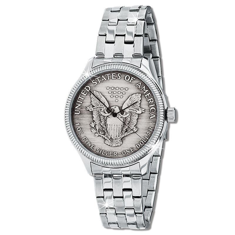 silver eagle dollar watch UK SEDW a main