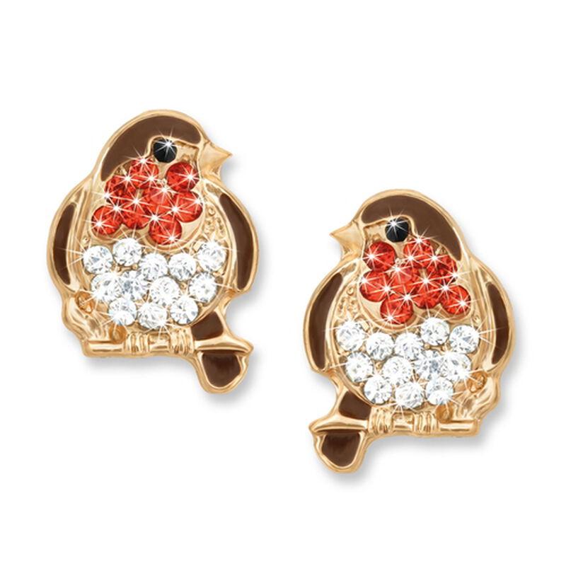 crystal robin earrings UK CROE a main