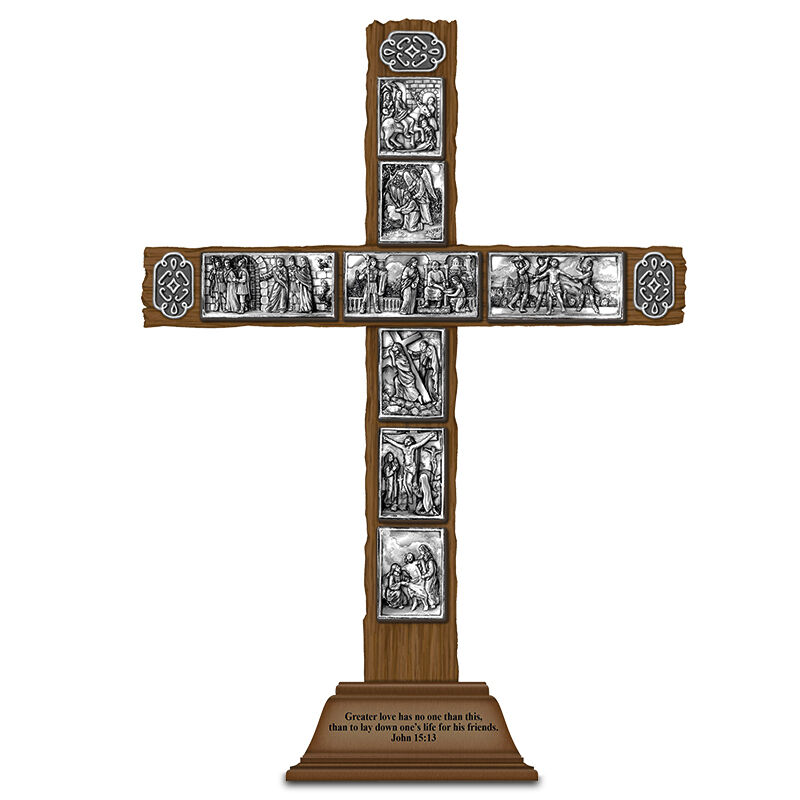 passion of jesus wooden cross UK PJWC2 a main