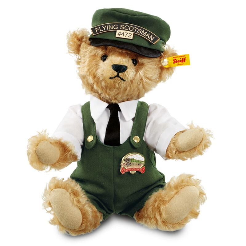 bill the flying scotsman bear by steiff UK SFSMB2 b two