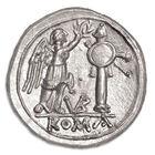 the ancient roman victoriatus silver coi UK ARV a main