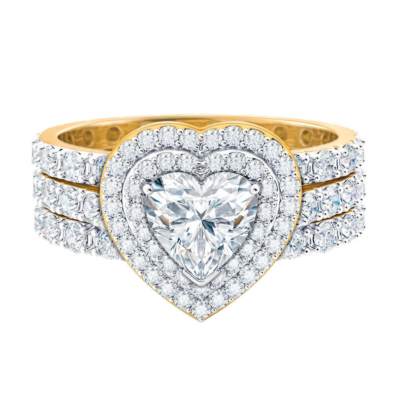 love everlasting stacking ring set UK LESRS b two