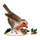 the winter robin trinket box UK FSRTB a main