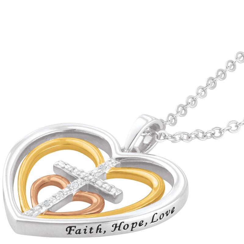 cross my heart diamond pendant UK CMHDP a main