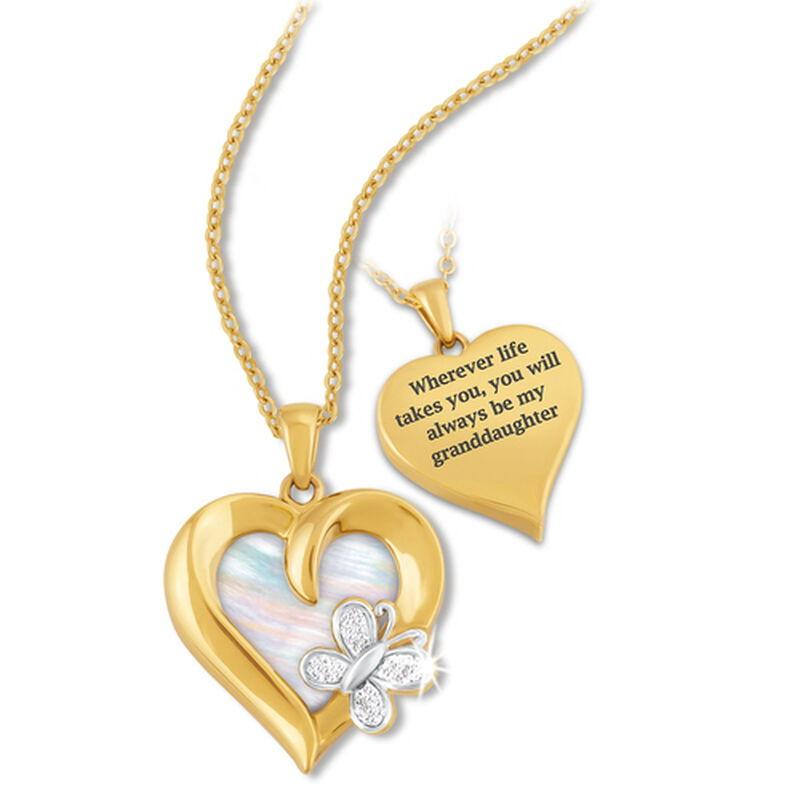 always my granddaughter diamond pendant UK CPFMGD2 a main
