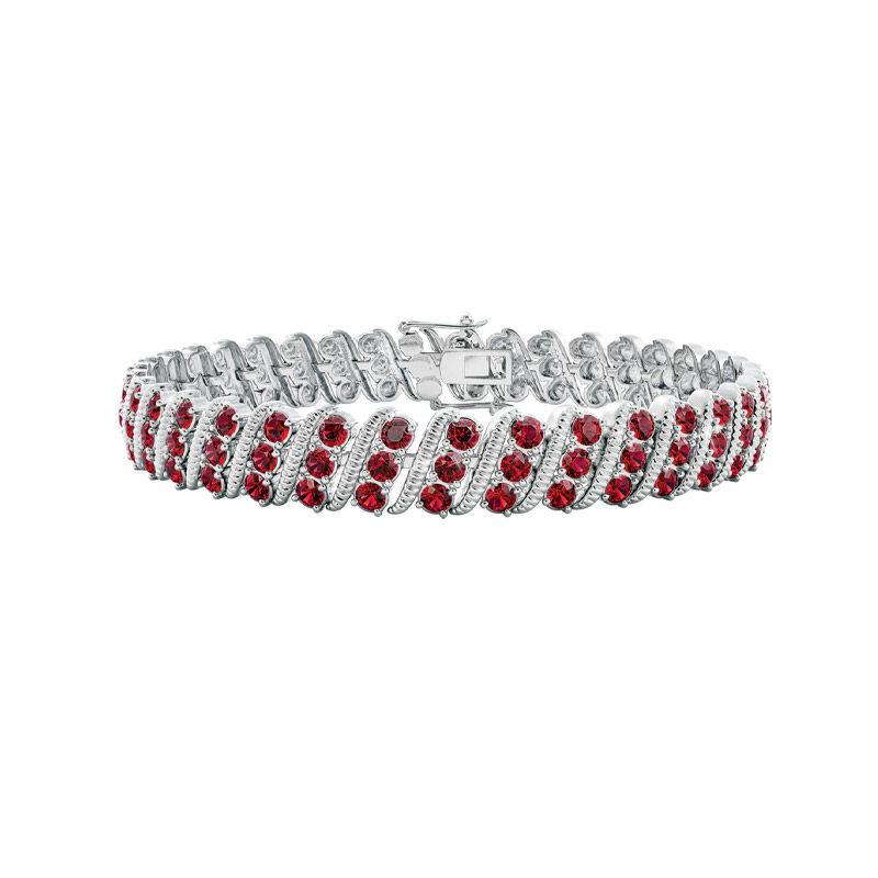 bold beautiful birthstone bracelet UK BSBBB a main