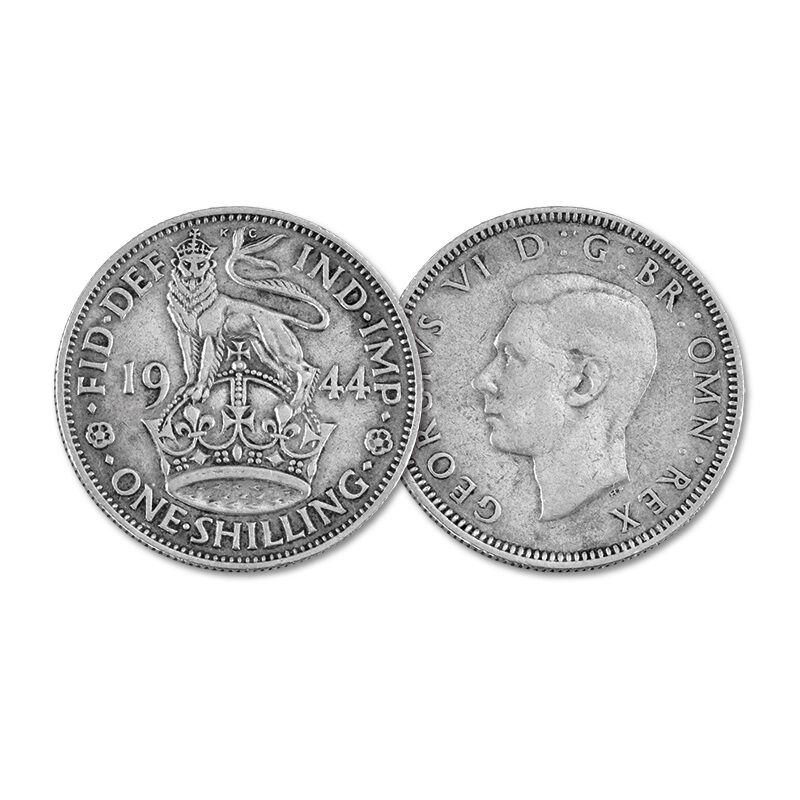 the kings shilling collector panel UK BRCTK b two