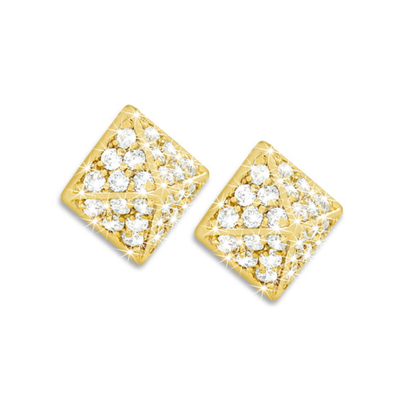 pyramid perfection earrings UK PYRE a main